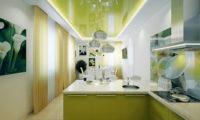 Ложь про натяжные потолки на кухне